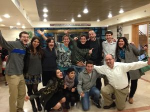 Ramah Berkshires Staff at the Israel Shabbaton