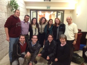 Ramah Poconos at the Israel Shabbaton
